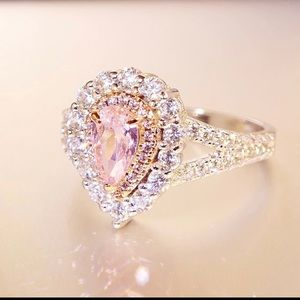 Accessories - Pink Stone Ring